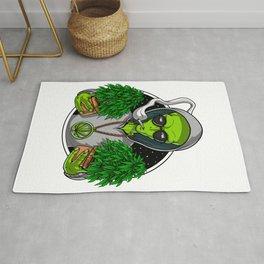 Alien Weed Grower Rug