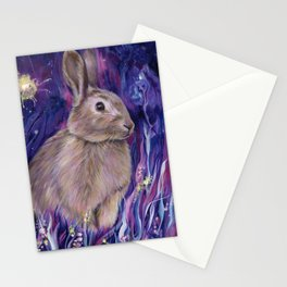 Rabbit Spirit Stationery Cards