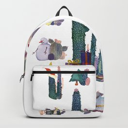 CACTUS CHRISTMAS!!!  Backpack