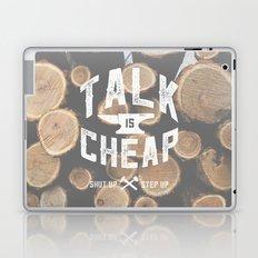 Talk is Cheap Laptop & iPad Skin
