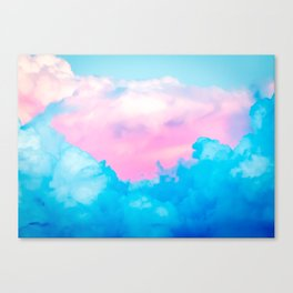 Candy Cloud Canvas Print