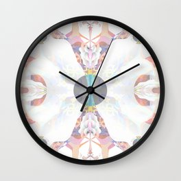 May all Beings be Happy and Free Wall Clock