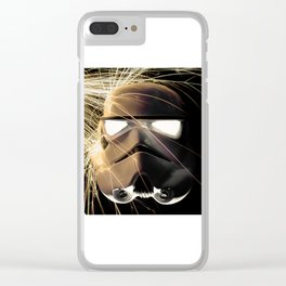 Ground Trooper Clear iPhone Case