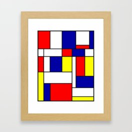 Mondrian #38 Framed Art Print
