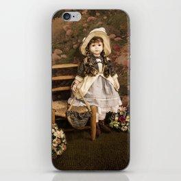 Vintae Doll: Alice in the Wonderland iPhone Skin