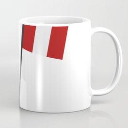 flag of Peru Coffee Mug