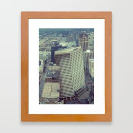 Obscure Me Milwaukee Framed Art Print