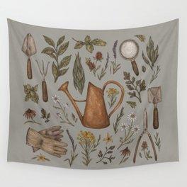 Gardening Wall Tapestry