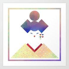 Geisha II Art Print