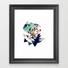 Datadoodle Eye of the Tiger Framed Art Print