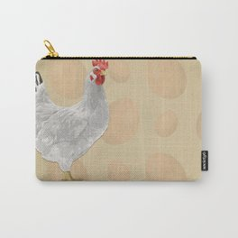 White Fowl Carry-All Pouch