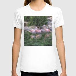 Three pink lovelies T-shirt