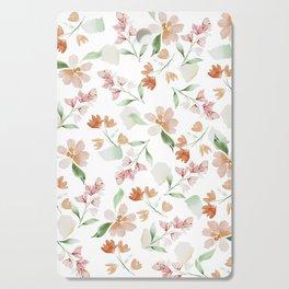 Flower Pattern Cutting Board