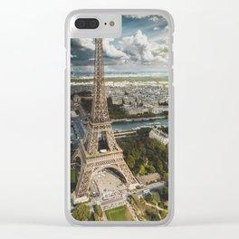 Paris is always a good idea Clear iPhone Case