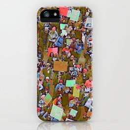 Women Marching iPhone Case