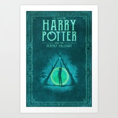HP Book 7 (Book Cover) Art Print