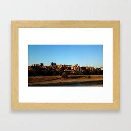 Roman ruin in Rome photography Framed Art Print