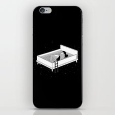 Bed for crying iPhone & iPod Skin