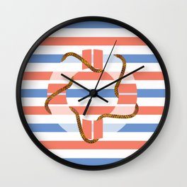 Life Tube Wall Clock