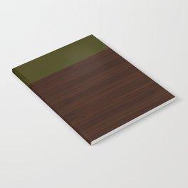 Modern Minimal Collection / Walnut Notebook