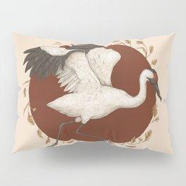 Whooping Crane Pillow Sham