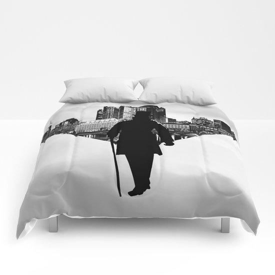 Gentleman walk Comforters