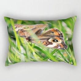 Hiding In The Grass Rectangular Pillow