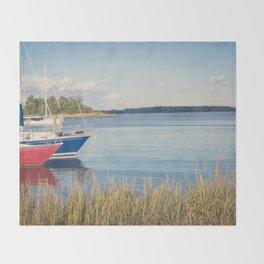 Morning on Chesapeake Bay, No. 2 Throw Blanket