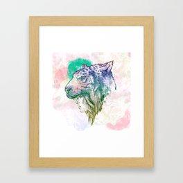 TiGirl Framed Art Print