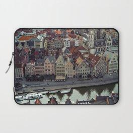 Belgium's Historic town Laptop Sleeve