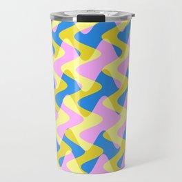 Crosswave Pink - Electron Series 003 Travel Mug