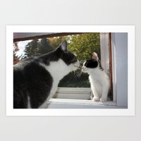 Tiniest Comes Home Art Print