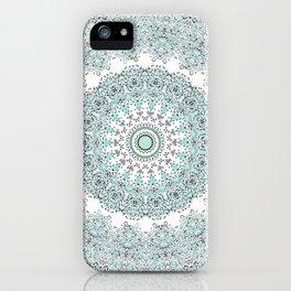 Mandala - Boho - Sacred Geometry - Pastels - iPhone Case