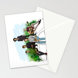 FOUR Stationery Cards