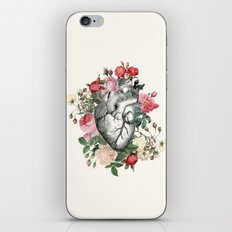 Roses for her Heart iPhone Skin