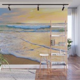 San Gregorio Beach Sunset Wall Mural