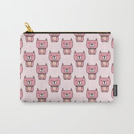 Cute pitbull dog pattern Carry-All Pouch