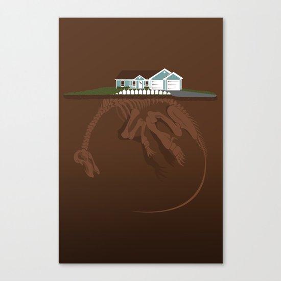 picket. Canvas Print