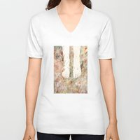 perfume V-neck T-shirts featuring Perfume #3 by Dao Linh