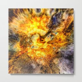 Inkferno Metal Print