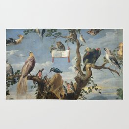 Nyders  Frans - The Concert Of Birds Rug