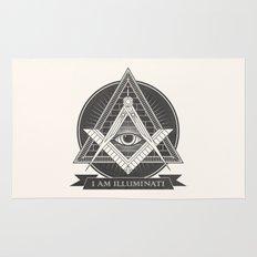 I am illuminati Rug
