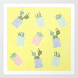 Succulents 2 Art Print
