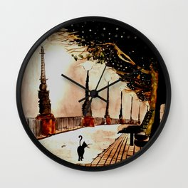 london lights Wall Clock