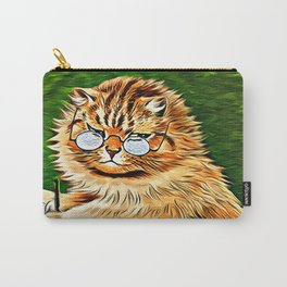 ORANGE TABBY CAT - Louis Wain's Cats Carry-All Pouch