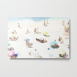 beach XXI Metal Print