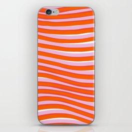 electric zebra stripes iPhone Skin