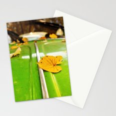 Leaves on a bug Stationery Cards