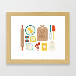 Bakers Table Framed Art Print