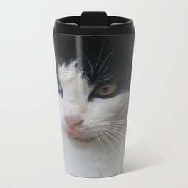 Cat Eye Metal Travel Mug